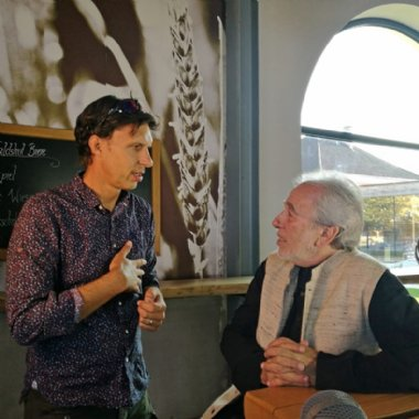 Sven Jansel bei Interview mit Bruce Lipton © Picker-PR